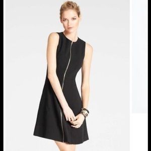 Ann Taylor Front Zip Dress